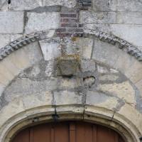 Vue partielle du portail ouest (2016)