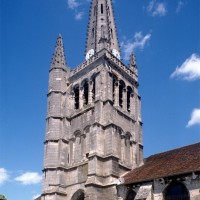 Le clocher vu du sud-est (1997)