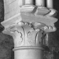 Chapiteau des grandes arcades de la nef (1995)