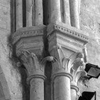 Chapiteaux à la retombée des voûtes de la nef (1995)