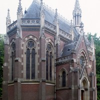 La chapelle vue du sud-est (1996)