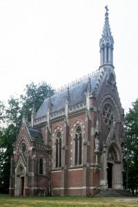 La chapelle vue du nord-ouest (1996)
