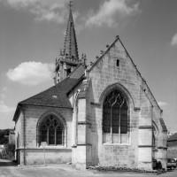L'église vue de l'est (1992)