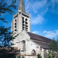 Vue partielle de l'église depuis le sud-ouest (1992)