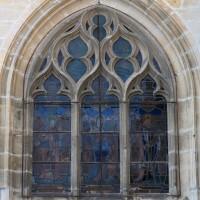 La fenêtre est du bas-côté sud du choeur (2018)