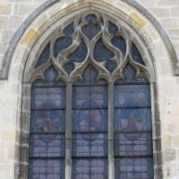 La fenêtre est du vaisseau central du choeur (2018)