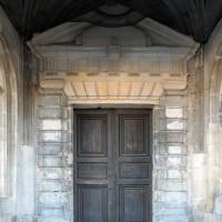 Le portail nord, sous le porche (2018)