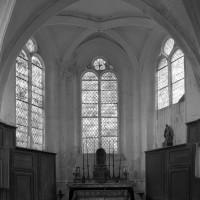 L'abside vue vers l'est (1995)
