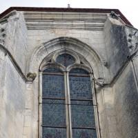 La partie supérieure de l'abside vue de l'est (2016)