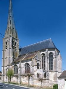 L'église vue du sud-est (1995)