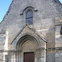 La façade ouest vue du sud-ouest (2016)
