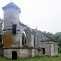 La chapelle de Louis d'Orléans  vue du sud-ouest (1997)