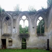 La chapelle de Louis d'Orléans vue depuis l'intérieur vers le sud (1997)