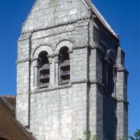 Le clocher vu du sud-ouest (1971)