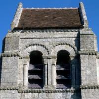 Les baies de la face sud du clocher (1971)