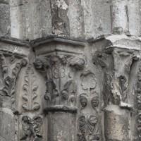 Les chapiteaux des piédroits de droite du portail sud (2018)
