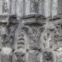 Les chapiteaux des piédroits de gauche du portail sud (2018)