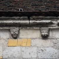 La corniche du mur sud de la nef (2018)