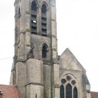 Le transept et le clocher vus du nord (2015)