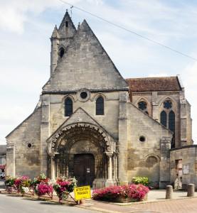 L'église vue de l'ouest (2015)