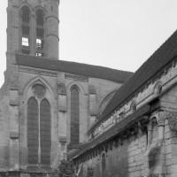 Vue partielle de l'église depuis le nord-ouest