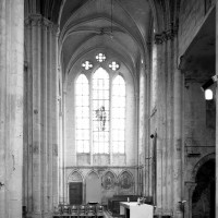 Vue partielle du transept vers le sud