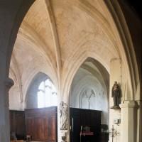 Vue partielle de la chapelle nord vers le nord-est (1996)