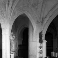 Vue partielle de la chapelle nord vers le sud-est (1996)