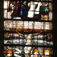 Vitrail de la Crucifixion
