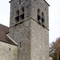 Le clocher vu du sud-ouest (2018)