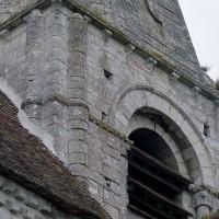 Vue partielle du clocher depuis le nord-est (2002)