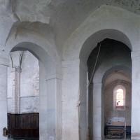 La base du clocher vue vers le sud-est (2002)