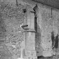 Vue partielle du mur sud de la nef (1975)