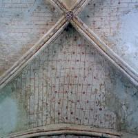 La voûte de la chapelle sud (2002)
