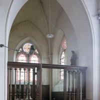 La chapelle sud vue vers le sud-est depuis le croisillon sud (2002)