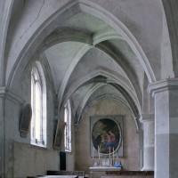 La chapelle nord vue vers l'est (2002)