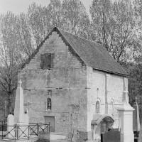 La chapelle vue du sud-ouest (1970)