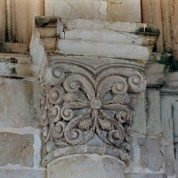 Chapiteau du mur latéral nord (2004)