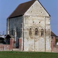 La chapelle vue du sud-est (2003)