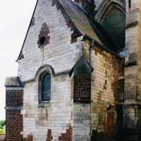 L'ancienne chapelle seigneuriale vue du nord-ouest (2003)