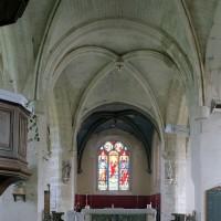 Le transept et le choeur vus vers l'est (2002)