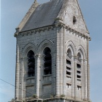 Le clocher vu du sud-est (2001)
