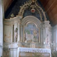 Détail de l'autel-retable (2002)