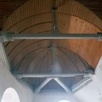 La charpente de la chapelle sud (2002)