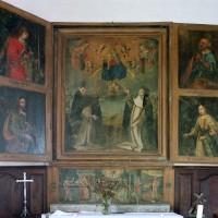 Le retable peint de la chapelle nord (2002)