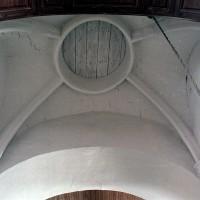 La voûte de la travée du clocher (2002)