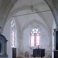 La chapelle sud vue vers le sud-est (2001)