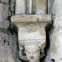 Cul-de-lampe de la chapelle nord (2001)