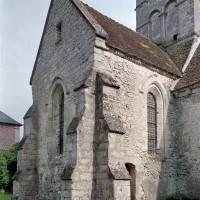 La chapelle nord vue du nord-ouest (2001)