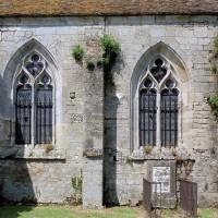 Les fenêtres du mur sud du choeur (2001)